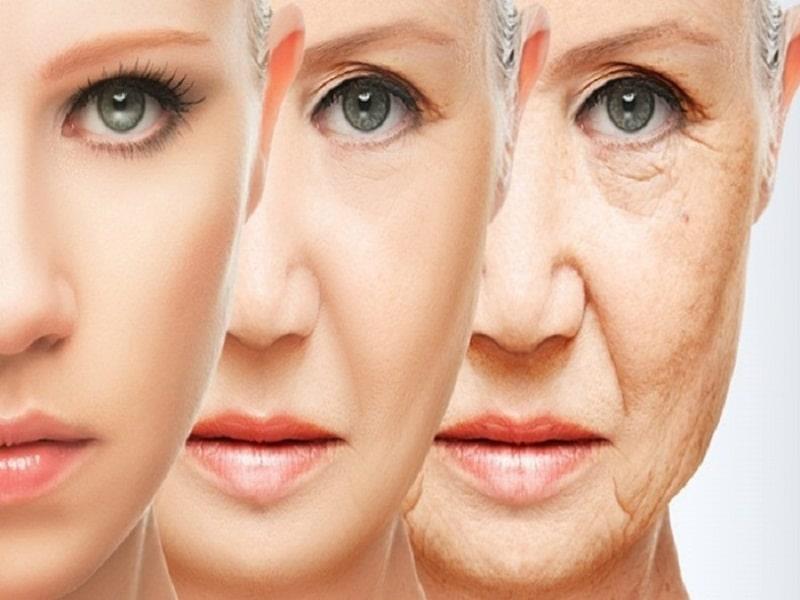 Da bị lão hóa do tuổi tác
