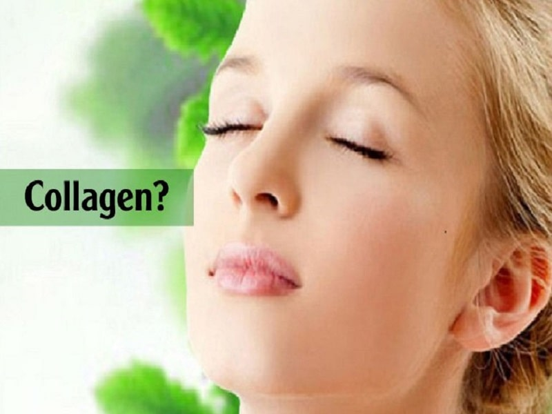 Da không được bổ sung collagen